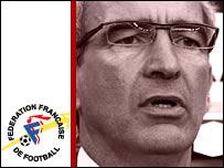 France coach Raymond Domenech