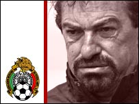 Mexico coach Rocardo La Volpe