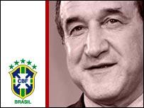 Brazil manager Carlos Alberto Parreira