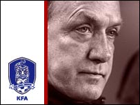South Korea coach Dick Advocaat