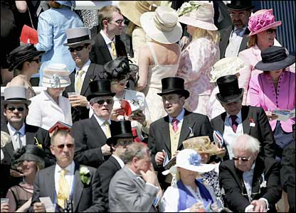 Crowds at Epsom