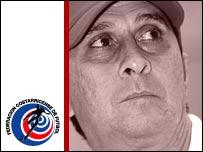 Costa Rica coach Alexandre Guimaraes