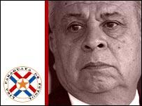 Paraguay coach Anibal Ruiz