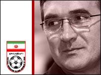 Iran coach Branko Ivankovic