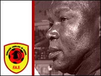 Angola coach Luis Oliveira Goncalves