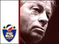 Serbia & Montenegro coach Ilija Petkovic