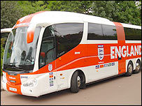 The England bus