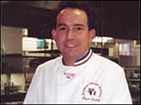 England chef Roger Narbett