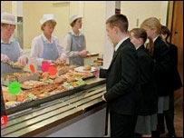 Dinner queue