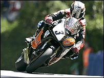 John McGuinness at Union Mills