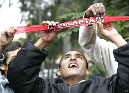 Ollanta Humala supporters