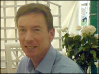 Frank Gardner at the Hay festival