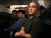 United 93 director Paul Greengrass (right)