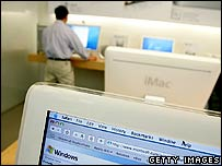 Apple Macs in store
