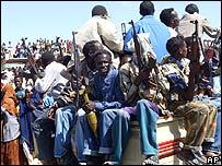 Hombres armados en Mogadishu