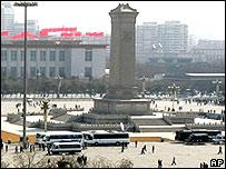 La Plaza de Tiannamen