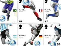 World Cup stamps, PA