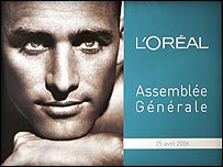 L'Oreal billboard