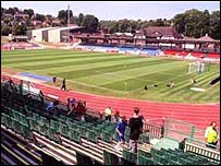 Withdean athletics stadium