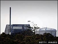 The Lucas Heights nuclear reactor near Sydney