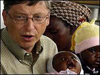 Bill Gates in Mozambique