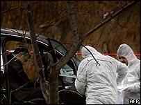 Bulgarian police investigate a mafia killing