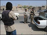Iraqi translator working with British troops