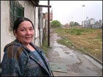 Petrona Fleitas in Buenos Aires (picture courtesy IOM)