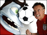 Tony Christie and The Crazy Frog
