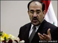 Iraqi PM Maliki