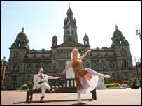 A dancer launches the Charles Rennie Mackintosh festival