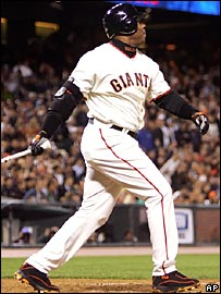Barry Bonds hits his 716th home run