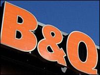 Photo of a B&Q logo