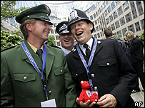 Foreign police in Berlin