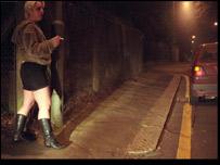 Una mujer en las calles