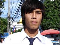 Pete in a Bangkok street