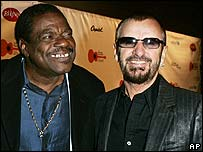 Billy Preston with Ringo Starr