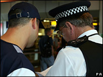 Police checking England fans