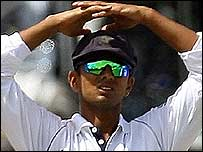 India skipper Rahul Dravid
