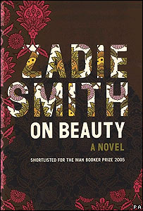 Cover of Zadie Smith's novel On Beauty