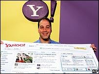 Yahoo boss Dan Rosensweig
