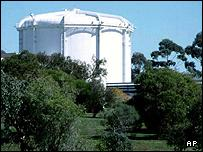 Lucas Heights nuclear reactor in Sydney
