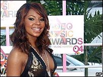 R&B singer Ashanti