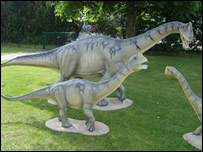 Dino models at the Dinopark Munchehagen. (Dinopark Munchehagen)