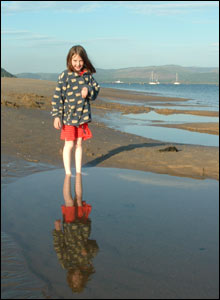 Rwth Fleming's daughter Alis Enlli taken on a lovely evening in Aberdyfi