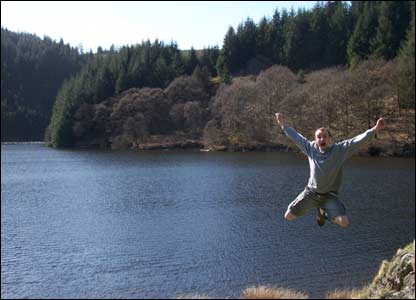 John Burton sent in this shot from a great day out at Llyn Brianne in Carmarthenshire