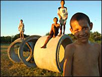 Niños en Paraguay