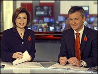 Jane Hill and Chris Eakin on News 24