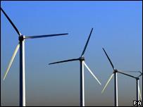 Wind turbines (file photo)