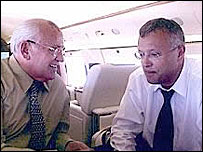 Михаил Горбачев и Александр Лебедев. Фото с сайта alebedev.ru